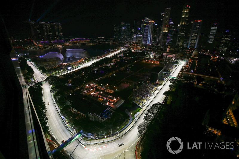 Marina Bay Circuit in Singapur