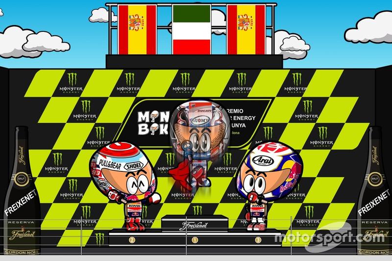 El GP de Catalunya 2017 de MotoGP según MiniBikers
