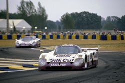 John Nielsen, Price Cobb, Eliseo Salazar, Martin Brundle, Jaguar XJR-12