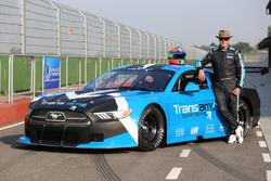 Eric van der Poele mit dem Ford Mustang für die Transam-Euroserie