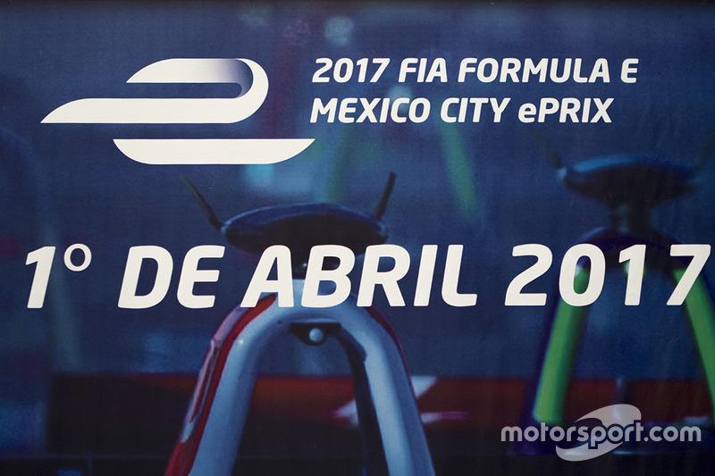 Logo Fórmula E Mexico City ePrix