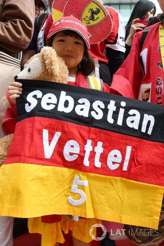 Sebastian Vettel, Ferrari fan