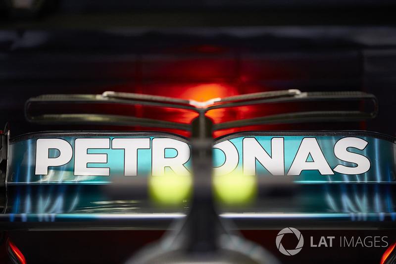 Alerón coche de Valtteri Bottas, Mercedes AMG F1 W08