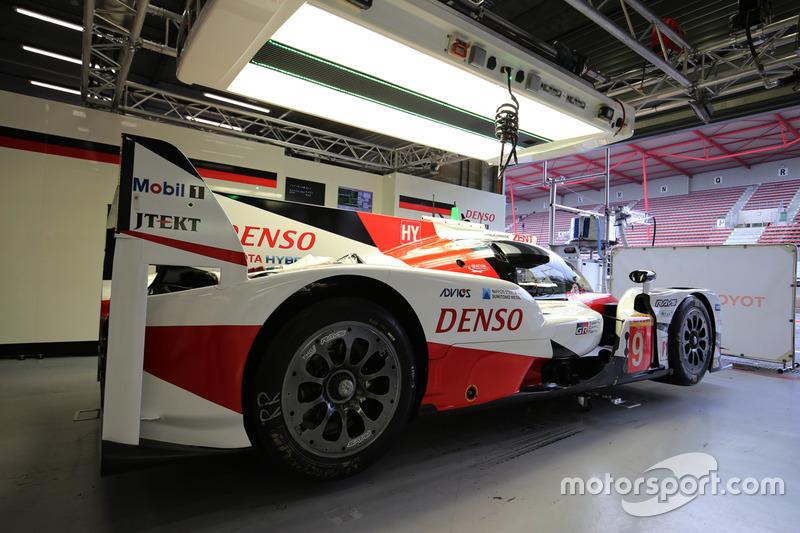 #9 Toyota Gazoo Racing Toyota TS050 Hybrid