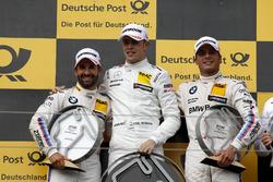 Podio: ganador de la carrera Paul Di Resta, Mercedes-AMG Team HWA, Mercedes-AMG C63 DTM, segundo lug