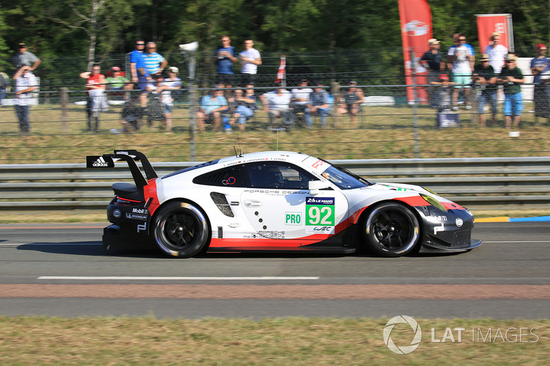 7. GTE-Pro: #92 Porsche Team, Porsche 911 RSR
