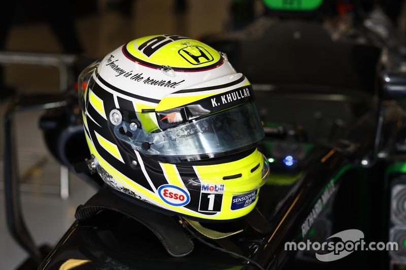 Casco de Jenson Button, McLaren