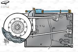 Minardi M01 gearbox