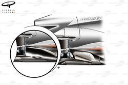 McLaren MP4/26 exhaust