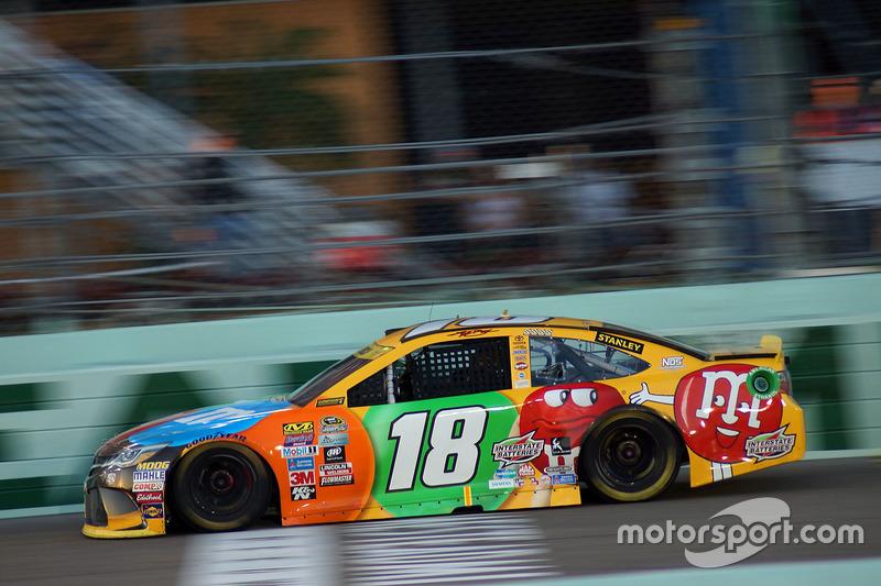 Kyle Busch (Gibbs-Toyota): Dritter mit P6 im Rennen