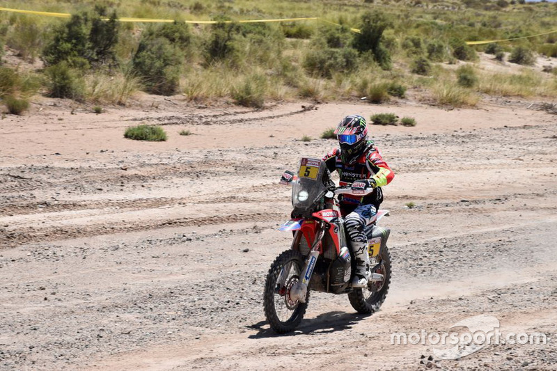 Honda #5, Joan Barreda