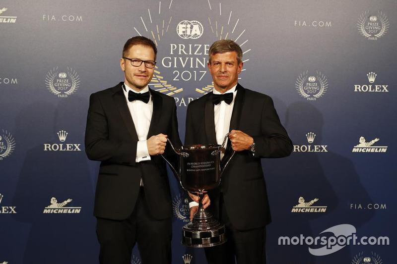 Fritz Enzinger y Andreas Seidl
