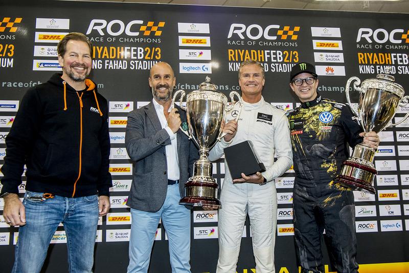 Ganador David Coulthard, segundo Petter Solberg