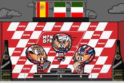 El GP de Japón 2017 de MotoGP según MiniBikers