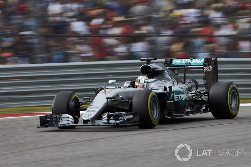 2016 - Остин: Льюис Хэмилтон, Mercedes F1 W07 Hybrid
