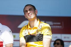 Cyril Abiteboul, director general, Renault Sport F1 Team, en el escenario