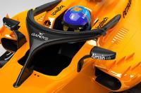 McLaren MCL33 halo with Gandys logo