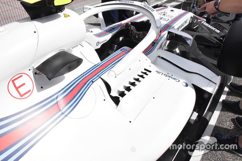 Detalle del Williams FW41