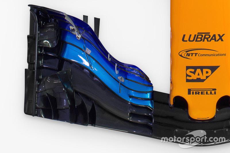 McLaren MCL33, переднє антикрило