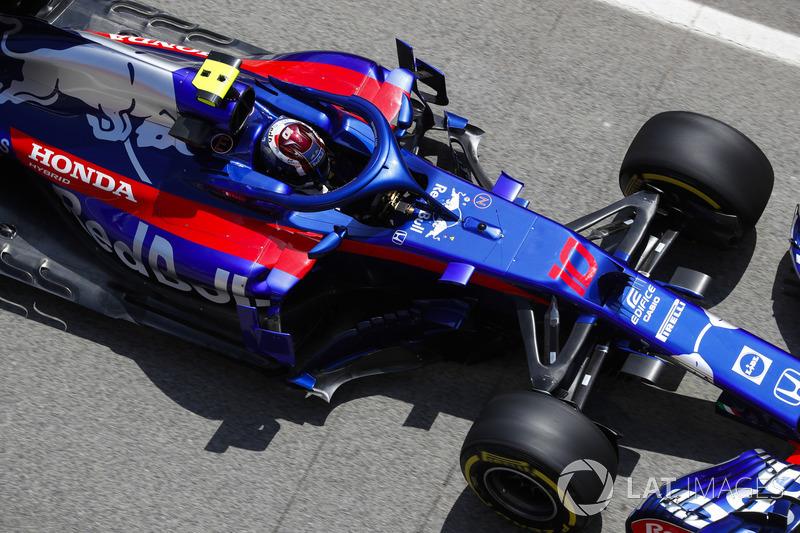 14. Pierre Gasly, Toro Rosso STR13