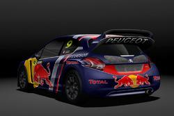 Sébastien Loeb, Team Peugeot Hansen, Peugeot 208 WRX