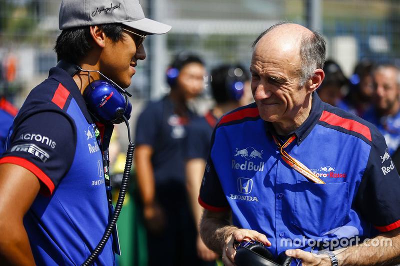 Sean Gelael, Toro Rosso, Franz Tost, Team Principal, Toro Rosso