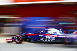 Пит-стоп: Пьер Гасли, Scuderia Toro Rosso STR13
