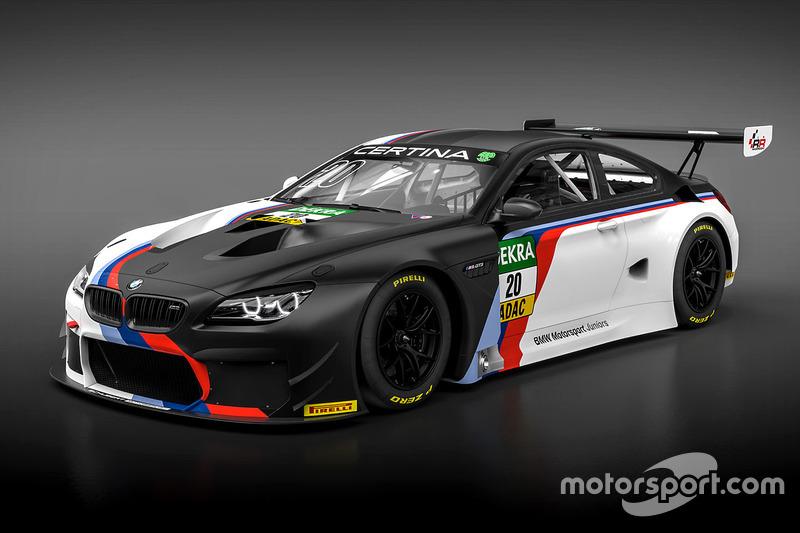 La BMW M6 GT3 per la BMW Motorsport Juniors, Schubert Motorsport