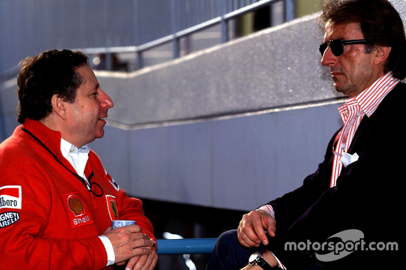 Luca Di Montezemolo y Jean Todt, Ferrari
