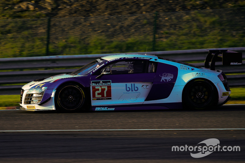 #27 Sainteloc Racing Audi R8 LMS: Mickael Blanchemain, Gilles Lallement, Valentin Hasse-Clot, Jean-Paul Buffin