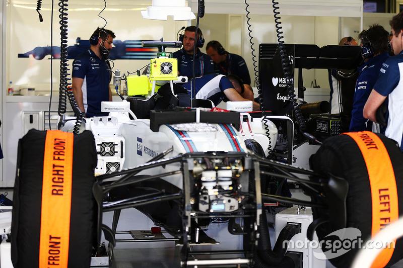 El FW38 Williams de Felipe Massa