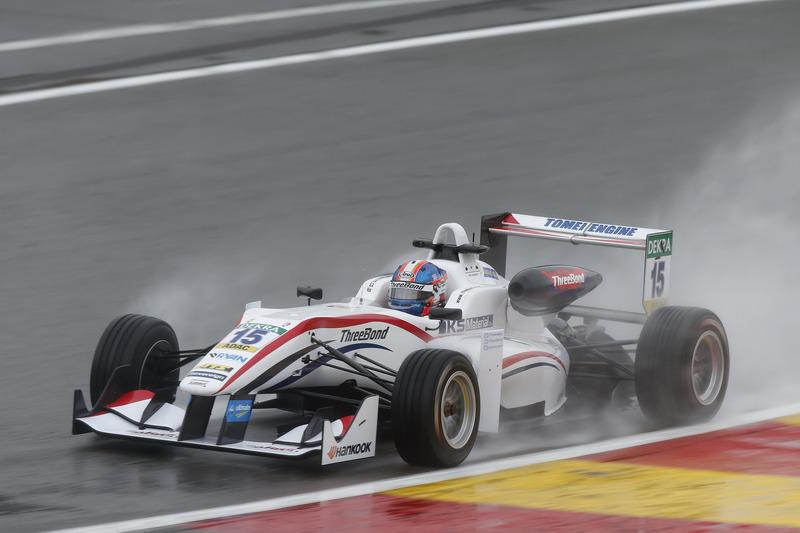 Ukyo Sasahara, ThreeBond with T-Sport, Dallara F312 – ThreeBond