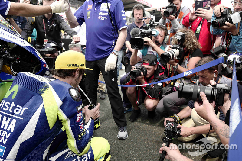 MotoGP : La concentration de Rossi