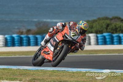 Superbike-Testfahrten auf Phillip Island, Februar