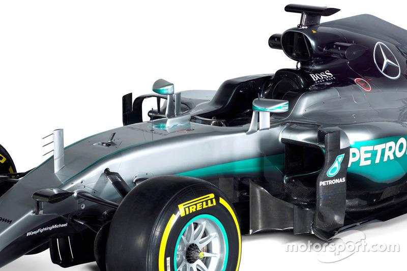 Mercedes AMG F1 W07, Detail