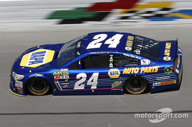 #24 Chase Elliott (Hendrick-Chevrolet)