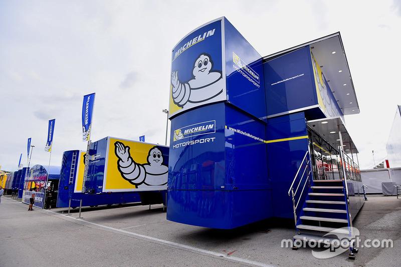 Michelin tire area