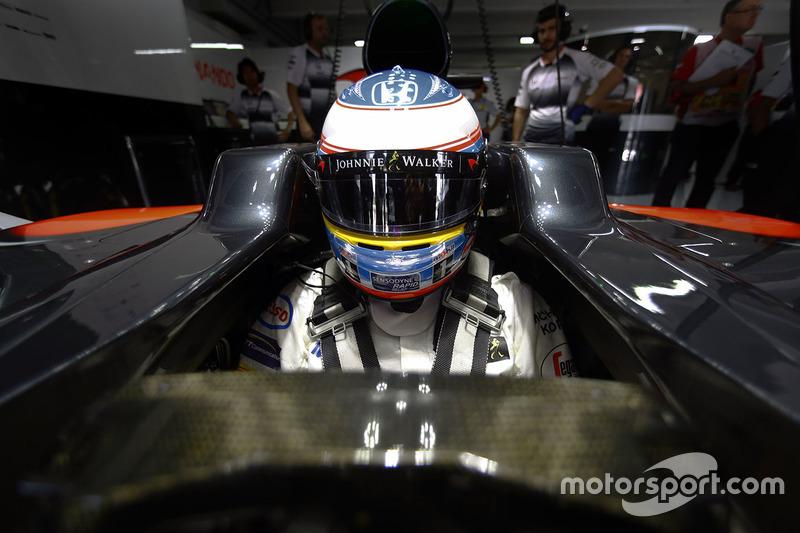 #9: Fernando Alonso, McLaren-Honda MP4-31