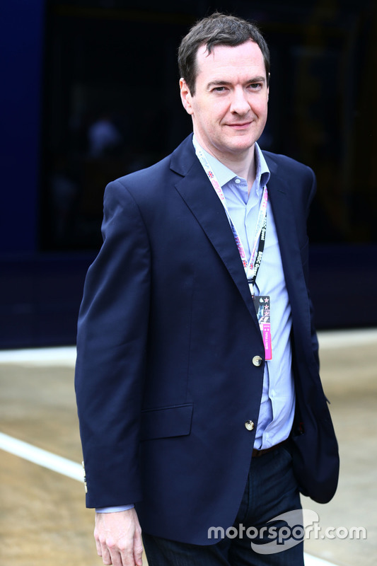 George Osborne MP, Finanzminister