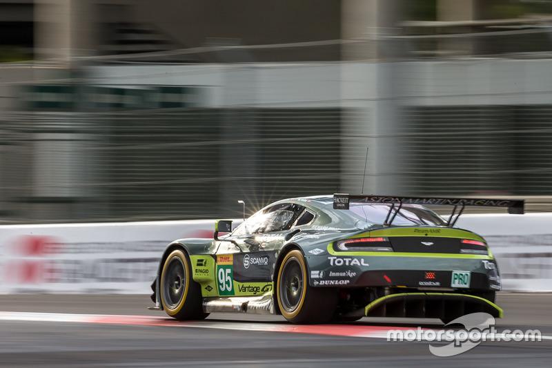 3. GTE-Pro: #95 Aston Martin Vantage GTE: Marco Sorensen, Nicki Thiim