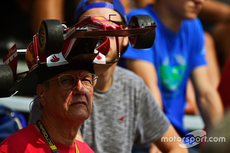A Ferrari fan