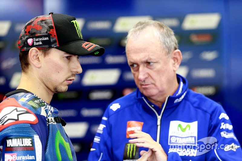 Jorge Lorenzo, Yamaha Factory Racing e Ramo Forcada