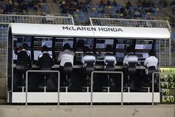 McLaren-Kommandostand