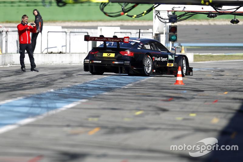 Mattias Ekström, Audi Sport Test car
