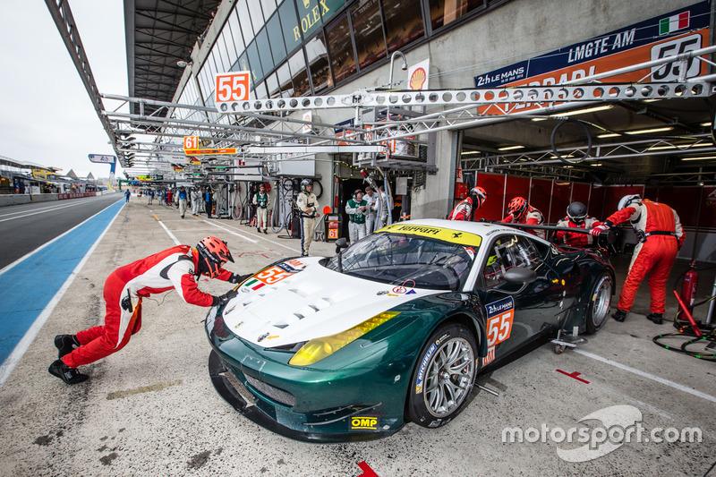 #55 AF Corse, Ferrari 458 Italia: Duncan Cameron, Matt Griffin, Aaron Scott