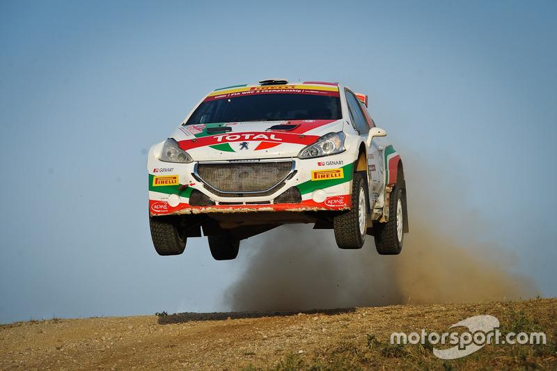 Andreucci e Andreussi in azione nel WRC 2015