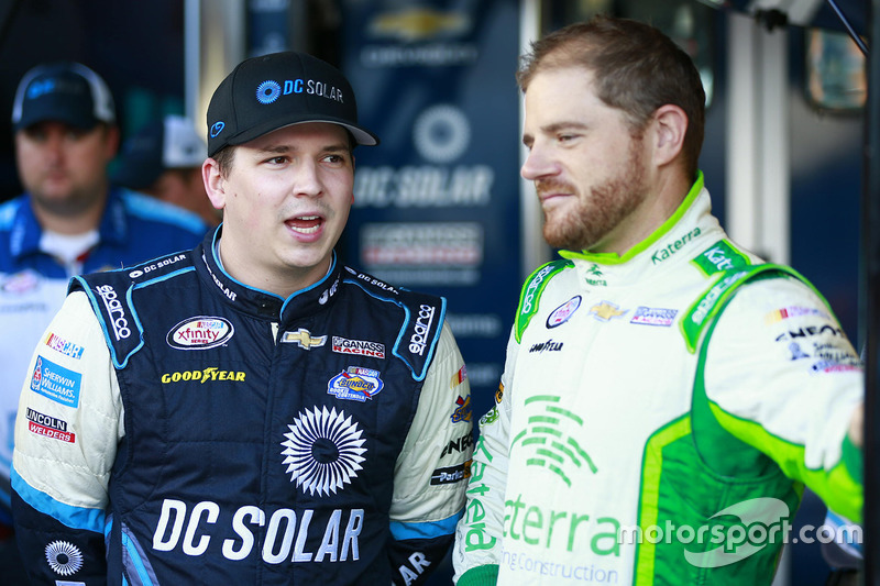 Brennan Poole, Chip Ganassi Racing Chevrolet, Justin Marks, Chip Ganassi Racing Chevrolet