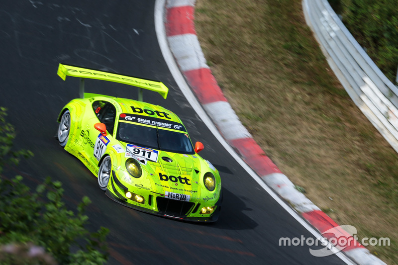 VLN 7: #911 Manthey Racing, Porsche 911 GT3 R