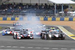 #32 Lawrence Tomlinson Ginetta P3-15 - Nissan: Lawrence Tomlinson, Charlie Robertson, #2 United Autosports Ligier JSP3 - Nissan: Martin Brundle, Christian England
