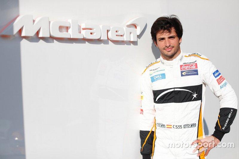 #55 Carlos Sainz, McLaren